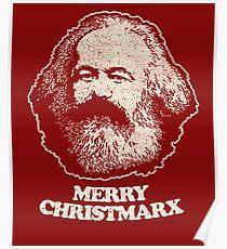 Not Santa Claus - Karl Marx Shirt Communist Marxist T Shirts Poster