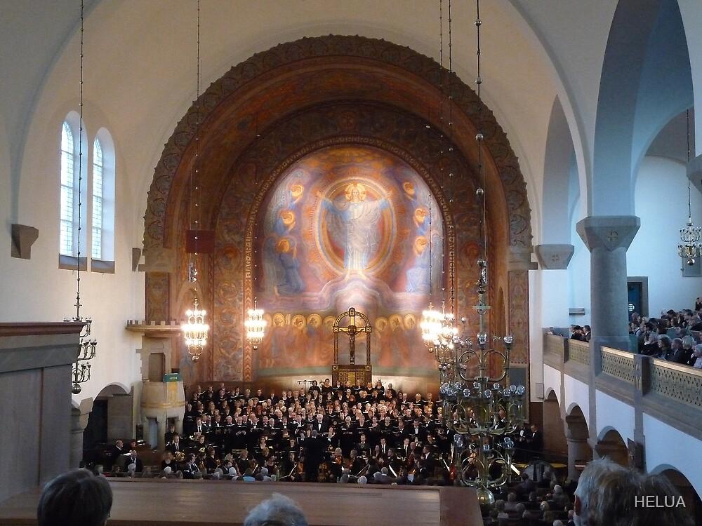 Neo Romanesque and Art Nouveaux Church by HELUA