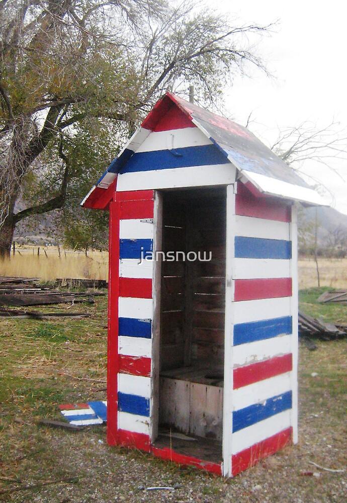 Patriotic Potty by jansnow