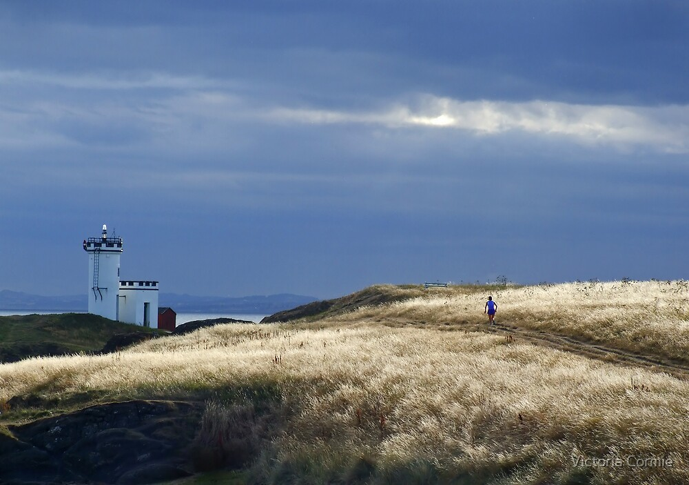 Jogger at Elie by Victoria Cormie