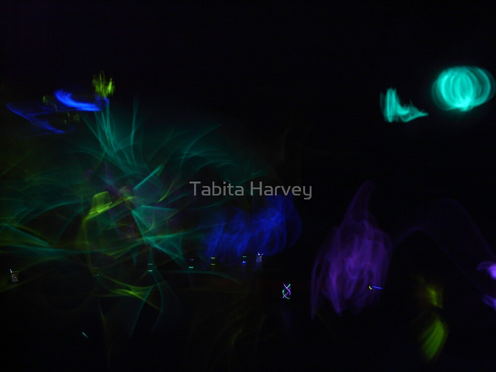 Glowsticks by Tabita Harvey