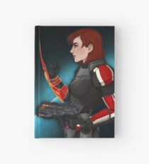 Commander Jane Shepard Hardcover Journal