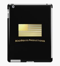 Silver & Gold US Flag iPad Case/Skin