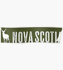 Deer: Nova Scotia, Canada Poster