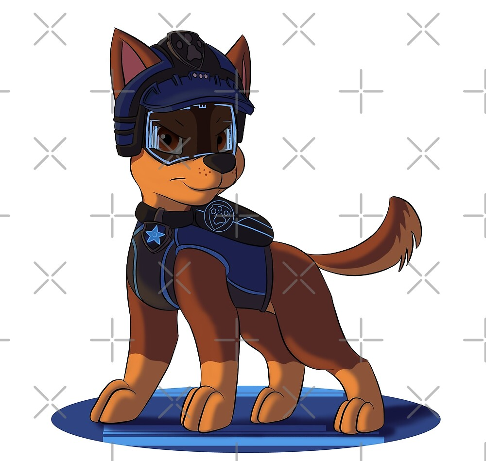 paw patrol mission paw chase by kreazea redbubble