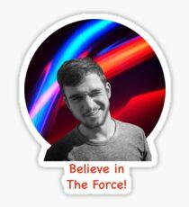 Believe in the Force Sticker