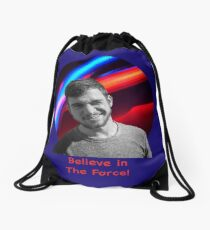 Believe in the Force Drawstring Bag