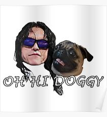 Tommy Wiseau Doggy Poster