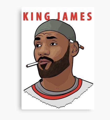King James Canvas Print