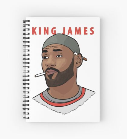 King James Spiral Notebook