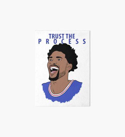 Trust the Process Art Board