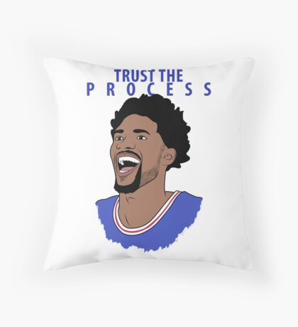 Trust the Process Floor Pillow