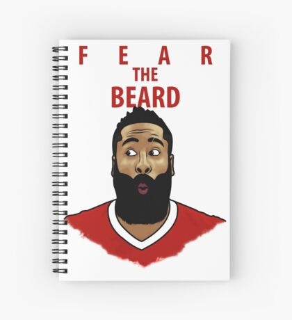 Fear the Beard Spiral Notebook