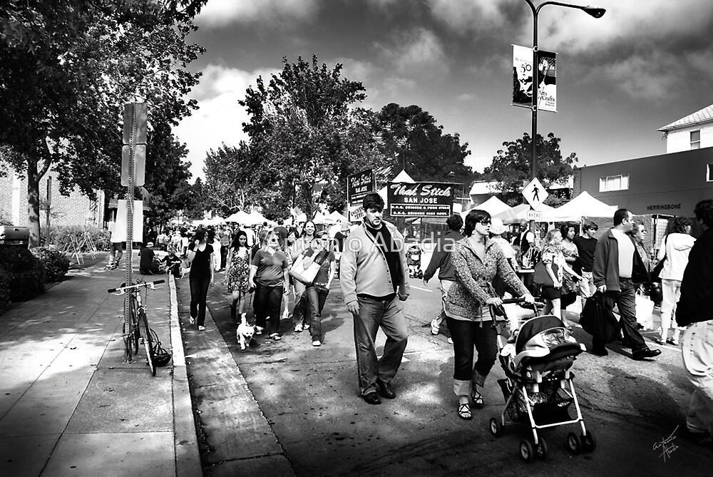 Sunday in Berkley by Antonio Abadia
