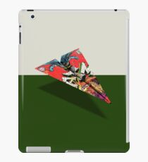 BM 194 Cover Art Paper Airplane iPad Case/Skin