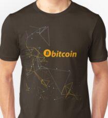 Geometric Bitcoin Unisex T-Shirt