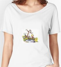 Calvin and Hobbes 8 Women's Relaxed Fit T-Shirt