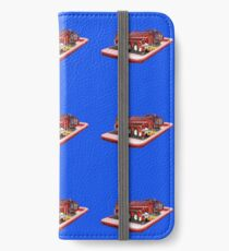 Fire Tuck On Mobile Phone Popout Art, iPhone Wallet/Case/Skin