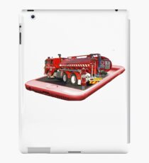 Fire Tuck On Mobile Phone Popout Art, iPad Case/Skin