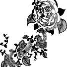 Black Rose by Marium Rana
