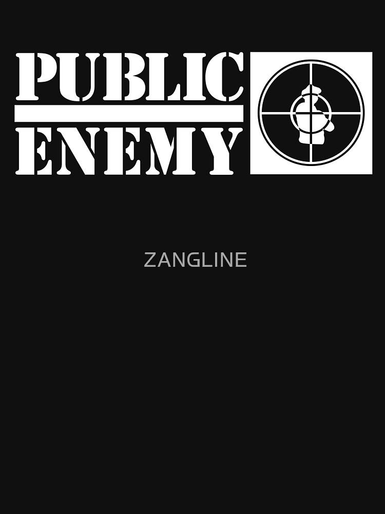 Public enemy logo T-shirt by ZANGLINE
