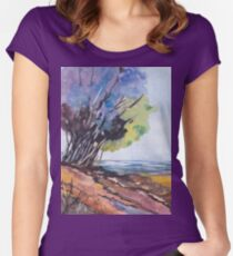 For the Tree-lovers Women's Fitted Scoop T-Shirt