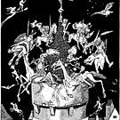 Fairytales, Knights, German Castles, Deutsche Kunst und Dekoration by katastrophy