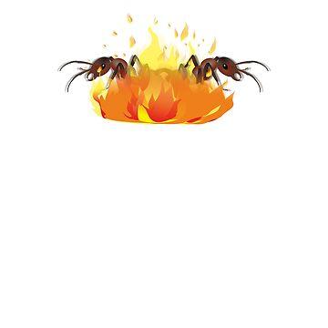 Liar Liar Ants on Fire by Brasil365
