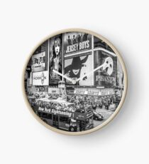 Times Square II Special Edition II (B&W) Clock