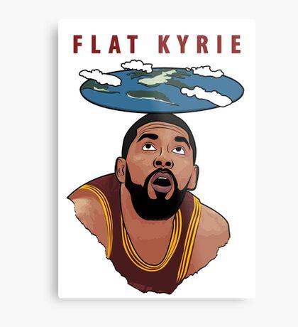 Flat Kyrie Metal Print
