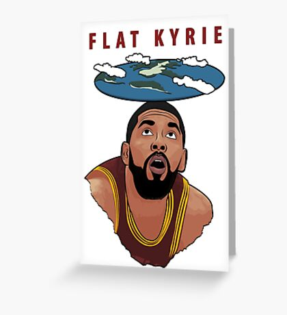 Flat Kyrie Greeting Card