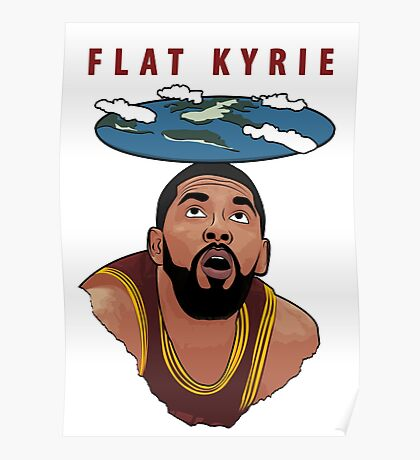 Flat Kyrie Poster