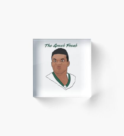 The Greek Freak Acrylic Block