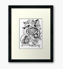 Curiouser and Curiouser Framed Print