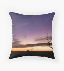 Mt Cooke Sunset Throw Pillow
