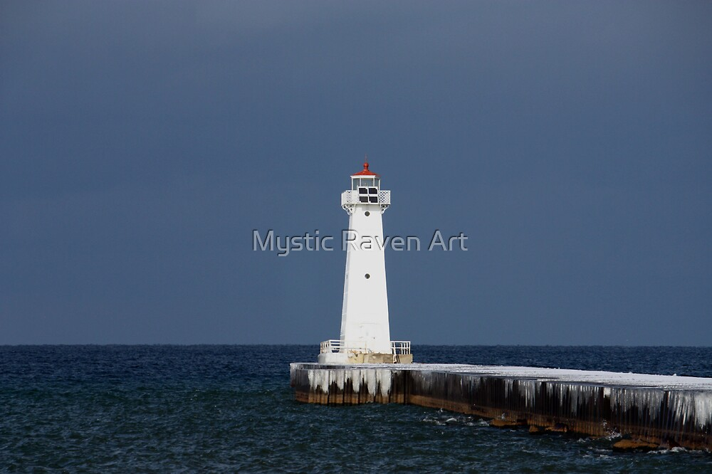Lighthouse to the Sea by Mystic Raven Art