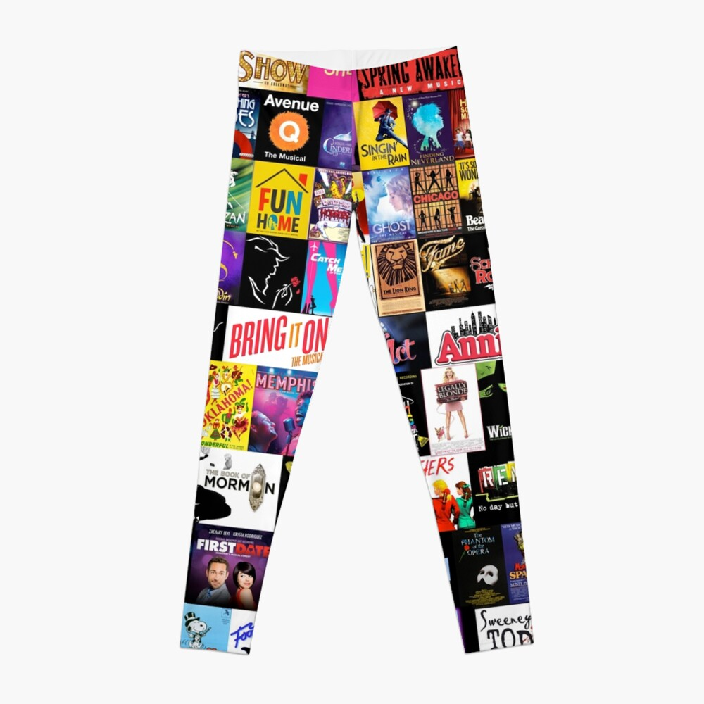 MUSICALS! (Duvet, Clothing, Book, Pillow, Sticker, Case, Mug etc)  Leggings