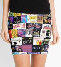 MUSICALS! (Duvet, Clothing, Book, Pillow, Sticker, Case, Mug etc)  Mini Skirt