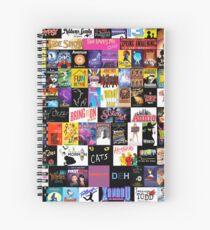 Cuaderno de espiral ¡MUSICALES! (Edredón, ropa, libro, almohada, etiqueta, estuche, taza, etc.)