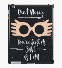 Harry Potter Quote iPad Case/Skin