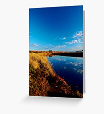 Werribee River  Greeting Card