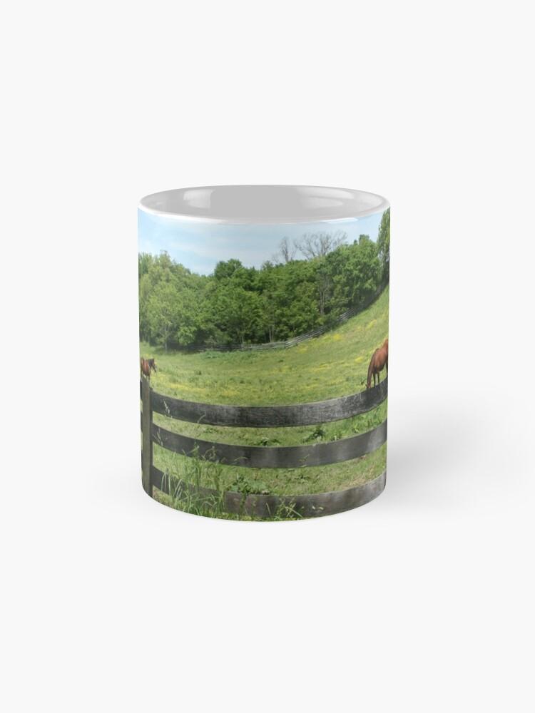 Alternate view of Springtime in a Peaceful Pasture Mug