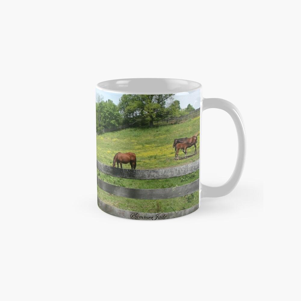 Springtime in a Peaceful Pasture Mug