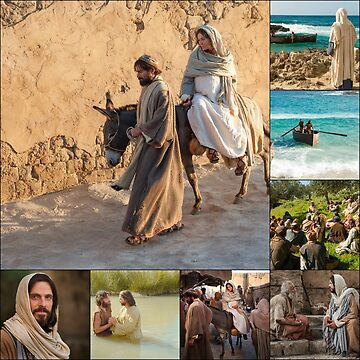 Stories of Jesus - A Collage for Christmas by BlueMoonRose