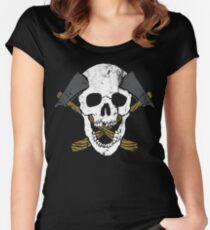 Skull Axe Women's Fitted Scoop T-Shirt