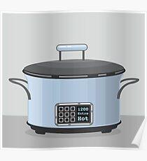 Crock pot kitchen item Poster