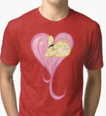 Heart Of Fluttershy Tri-blend T-Shirt