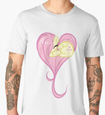Heart Of Fluttershy Men's Premium T-Shirt