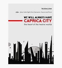 Caprica City Photographic Print