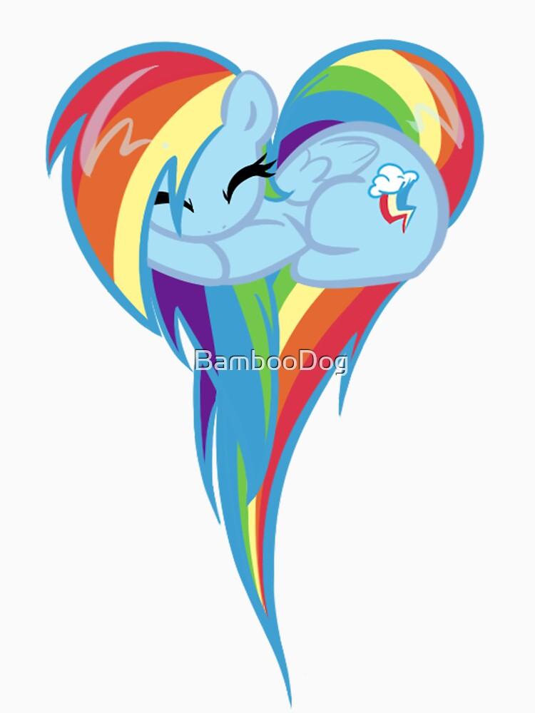 Heart Of Rainbow Dash by BambooDog